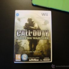 Videojuegos y Consolas: CALL OF DUTY MODERN WARFARE. Lote 49581318