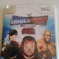 Videojuegos y Consolas: JUEGO WII.SMACK DOWN VS RAW 2008. Lote 49714149