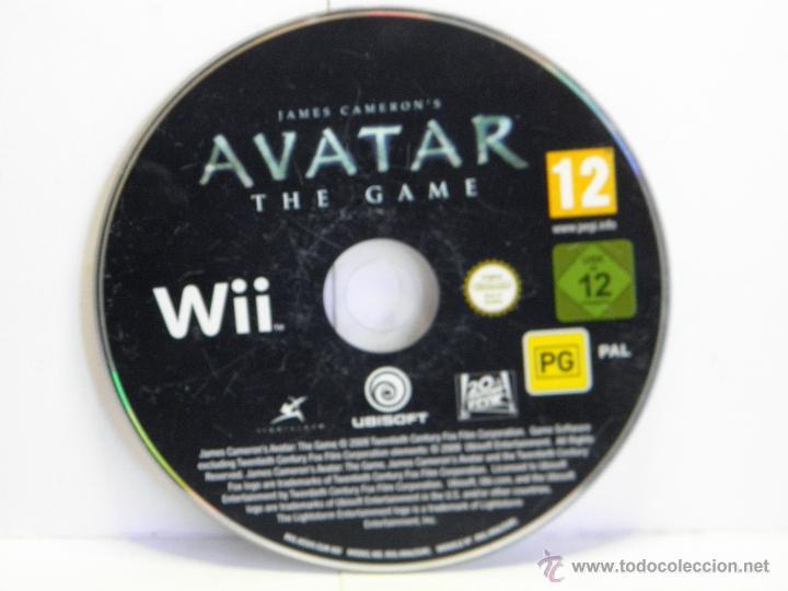 AVATAR NINTENDO WII (Juguetes - Videojuegos y Consolas - Nintendo - Wii)