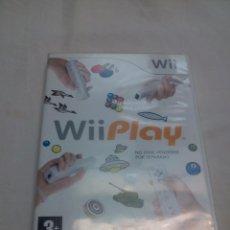 Videojuegos y Consolas: WII PLAY. Lote 53230208