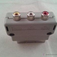 Videojuegos y Consolas: NINTENDO ADAPTADOR RCA-EUROCONECTOR PARA SNES WII N64 CUBE AUDIO Y VIDEO AV/TV. Lote 155647384
