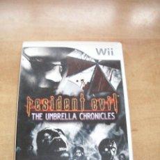Videojuegos y Consolas: VIDEOJUEGO RESIDENT EVIL. THE UMBRELLA CHRONICLES. NINTENDO WII. CAPCOM. 2007. PAL ESPAÑA. Lote 53605343