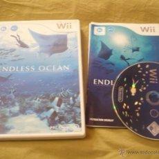 Videojuegos y Consolas: ENDLESS OCEAN NINTENDO WII PAL UK TEXTOS DE PANTALLA E INSTRUCCIONES EN INGLES. Lote 54196056