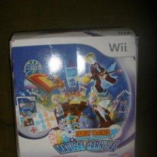Videojuegos y Consolas: WII FAMILY TRAINER.MAGICAL CARNIVAL + JUEGO.PARA LA ANTIGUA WII.. Lote 54533029