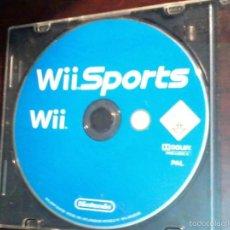 Videojuegos y Consolas: WII SPORTS NINTENDO. COMO APARECE EN LA FOTO. SOLAMENTE LO QUE SE VE.. Lote 56056792