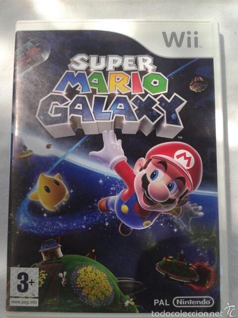 SUPER MARIO GALAXY, WII (Juguetes - Videojuegos y Consolas - Nintendo - Wii)