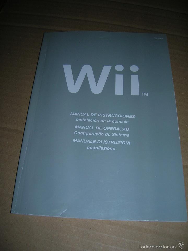 manual de instrucciones de la wii idiomas espa comprar rh todocoleccion net Wii Console Problems Mario Kart Wii Manual