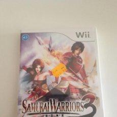 Videojuegos y Consolas: SAMURAI WARRIOR 3 WII PRECINTADO. Lote 58447265