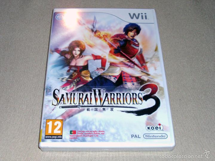 SAMURAI WARRIORS 3, PRECINTADO PAL ESP -WII- (Juguetes - Videojuegos y Consolas - Nintendo - Wii)