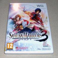 Videojuegos y Consolas: SAMURAI WARRIORS 3, PRECINTADO PAL ESP -WII-. Lote 59830340