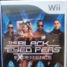 Videojuegos y Consolas: THE BLACK EYED PEAS EXPERIENCE. JUEGO PARA WII. PAL-ESP. NUEVO, PRECINTADO.. Lote 62510964