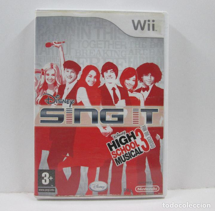 SING IT HIG SCHOOL MUSICAL 3 NINTENDO WII (Juguetes - Videojuegos y Consolas - Nintendo - Wii)