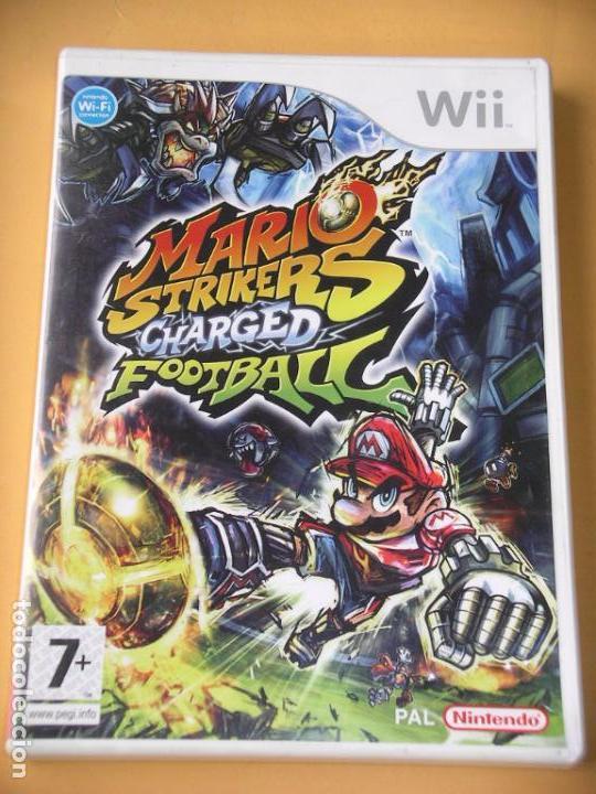 MARIO STRIKERS CHARGED FOOTBALL, PARA NINTENDO WII O WIIU, EN CASTELLANO, U ERCOM (Juguetes - Videojuegos y Consolas - Nintendo - Wii)