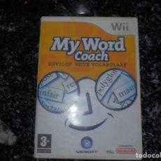 Videojuegos y Consolas: NINTENDO WII MY WORD COACH . Lote 66436794
