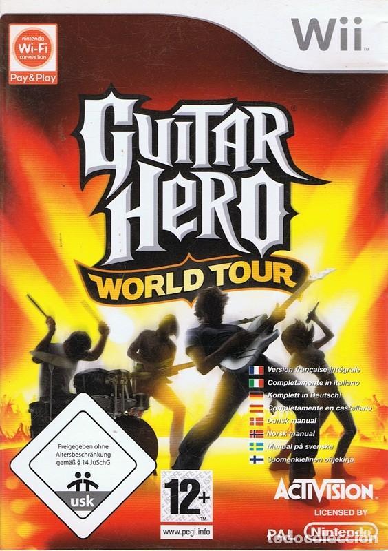 GUITAR HERO WORLD TOUR (Juguetes - Videojuegos y Consolas - Nintendo - Wii)