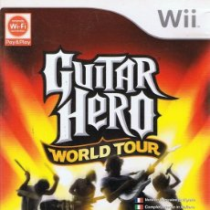 Videojuegos y Consolas: GUITAR HERO WORLD TOUR . Lote 69681477