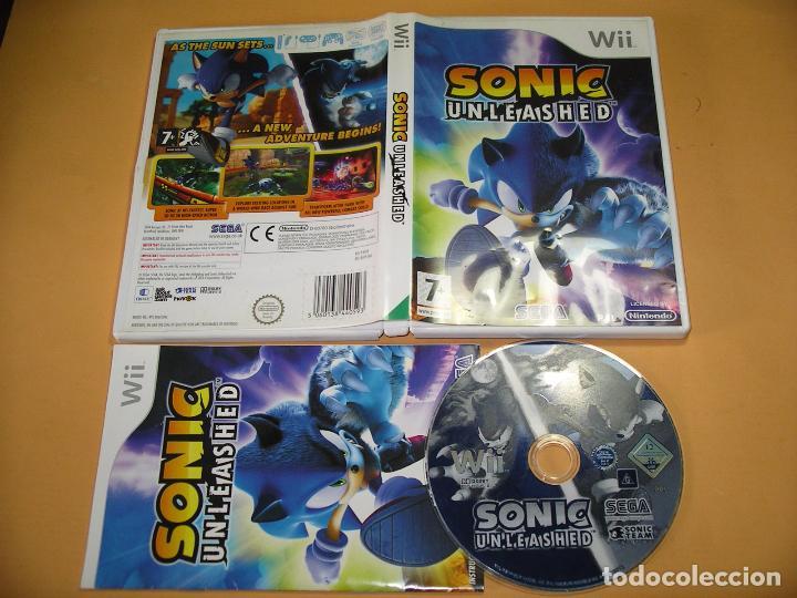 Videojuegos y Consolas: Sonic Unleashed, para Nintendo Wii o WiiU, en castellano, U - Foto 2 - 71458655