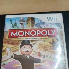 Videojuegos y Consolas: WII MONOPOLY. Lote 71956895