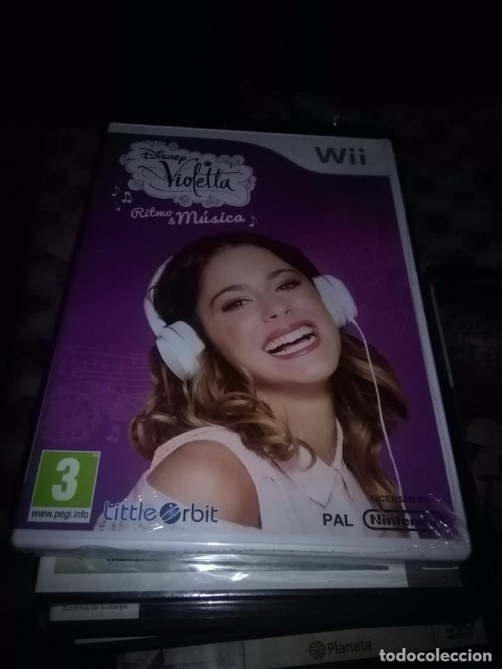 DISNEY WII. RITMO & MÚSICA. NUEVO PRECINTADO. (Juguetes - Videojuegos y Consolas - Nintendo - Wii)