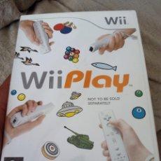 Videojuegos y Consolas: JUEGO WII PLAY. Lote 77473609