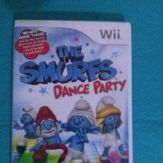 Videojuegos y Consolas: JUEGO PARA WII... THE SMURFS....LOS PITUFOS___DANCE PARTY,,,EN INGLES.. Lote 81572568