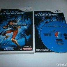 Videojuegos y Consolas: ALIEN SYNDROME NINTENDO WII PAL ESPAÑA COMPLETO . Lote 83257120