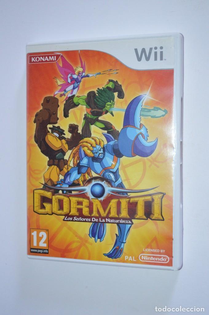 JUEGO NINTENDO WII GORMITI LOS SEÑORES DE LA NATURALEZA 2010 KONAMI PLATAFORMAS ACCIÓN AVENTURA (Juguetes - Videojuegos y Consolas - Nintendo - Wii)