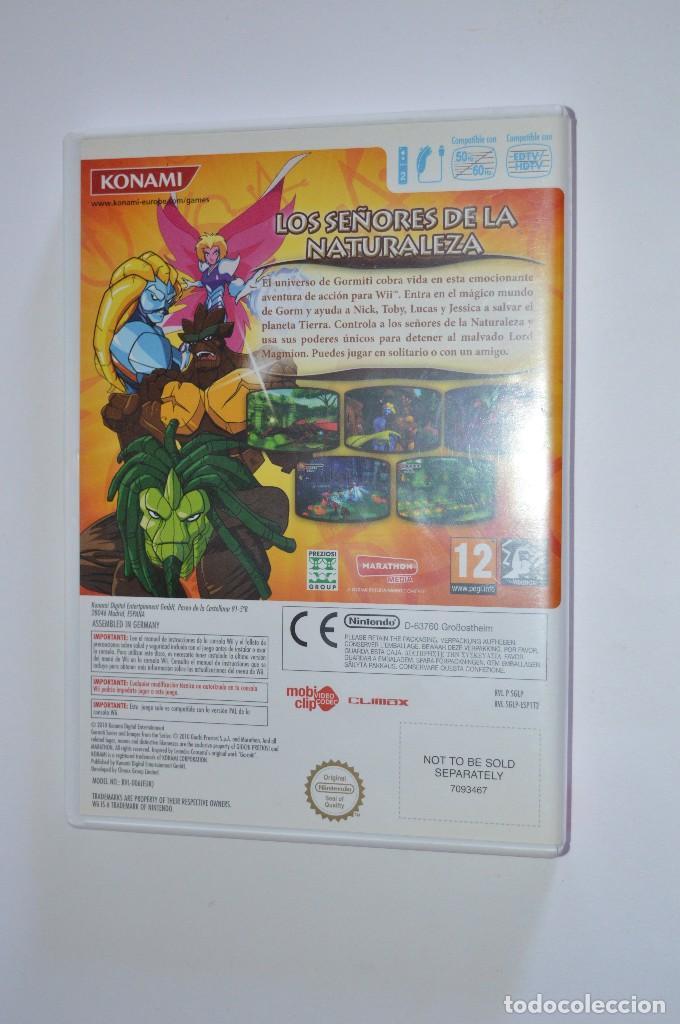 Videojuegos y Consolas: JUEGO NINTENDO WII GORMITI LOS SEÑORES DE LA NATURALEZA 2010 KONAMI PLATAFORMAS ACCIÓN AVENTURA - Foto 2 - 92912945