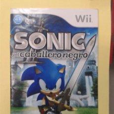Videojuegos y Consolas: SONIC Y EL CABALLERO NEGRO (INSTRUCCIONES). Lote 93398905