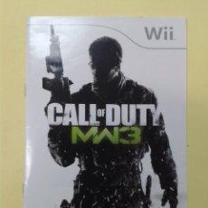 Videojuegos y Consolas: CALL OF DUTY MW3 (INSTRUCCIONES). Lote 93400280