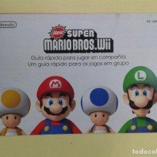 Videojuegos y Consolas: NEW SUPER BROSS (INSTRUCCIONES). Lote 93400735