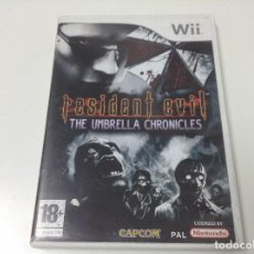 Videojuegos y Consolas: RESIDENT EVIL THE UMBRELLA CHRONICLES. Lote 95567203