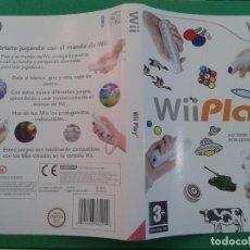Videojuegos y Consolas: WII PLAY (CARATULA). Lote 96904087
