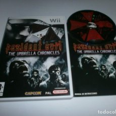 Videojuegos y Consolas: RESIDENT EVIL THE UMBRELLA CHRONICLES . Lote 98436799