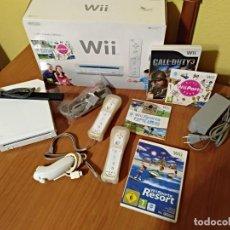 Videojuegos y Consolas: CONSOLA WII COMPLETA +4 JUEGOS.CALL DUTY3- PARTY-SPORTS RESORT Y WII SPORTS. Lote 99843547