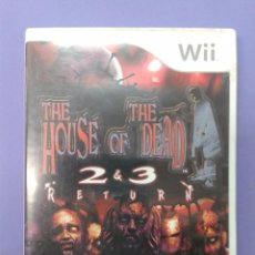 Videojuegos y Consolas: THE HOUSE OF THE DEAD 2 & 3 RETURN. Lote 100446659
