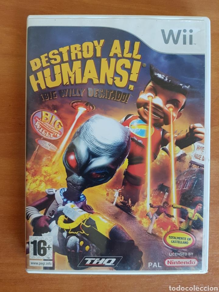 WII DESTROY ALL HUMANS! NTENDO PAL CASTELLANO (Juguetes - Videojuegos y Consolas - Nintendo - Wii)