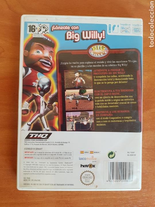 Videojuegos y Consolas: Wii DESTROY ALL HUMANS! NTENDO PAL CASTELLANO - Foto 3 - 101145083