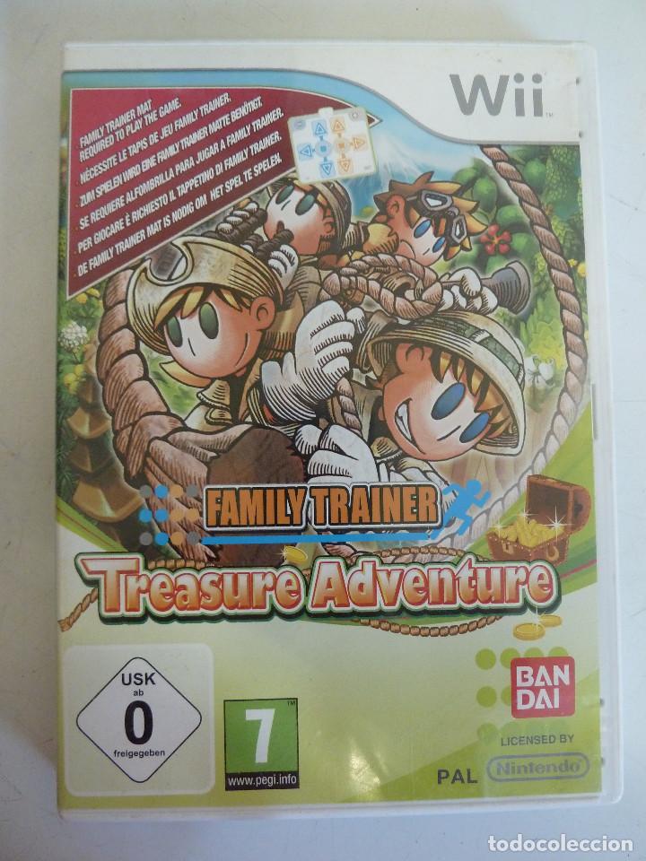 JUEGO - NINTENDO WII - FAMILY TRAINER - TREASURE ADVENTURE (Juguetes - Videojuegos y Consolas - Nintendo - Wii)