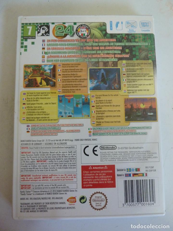 Videojuegos y Consolas: JUEGO - NINTENDO WII - FAMILY TRAINER - TREASURE ADVENTURE - Foto 2 - 230747265