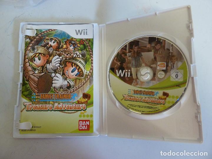 Videojuegos y Consolas: JUEGO - NINTENDO WII - FAMILY TRAINER - TREASURE ADVENTURE - Foto 3 - 230747265