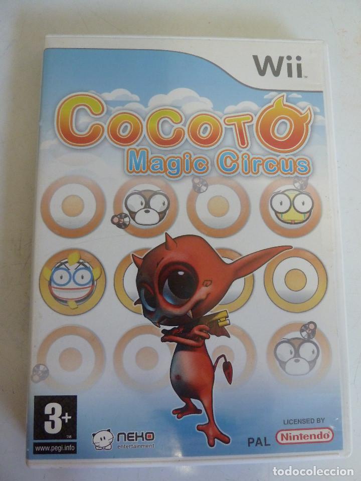 JUEGO - NINTENDO WII - COCOTO - MAGIC CIRCUS (Juguetes - Videojuegos y Consolas - Nintendo - Wii)