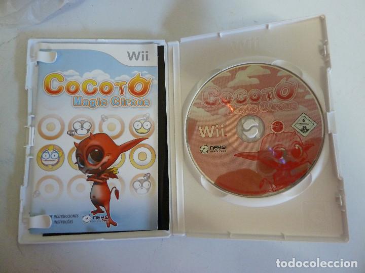Videojuegos y Consolas: JUEGO - NINTENDO WII - COCOTO - MAGIC CIRCUS - Foto 3 - 101874063