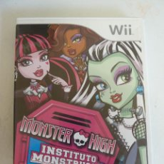 Videojuegos y Consolas: JUEGO - NINTENDO WII - MONSTER HIGH - INSTITUTO MONSTRUOSO. Lote 101875159