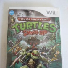 Videojuegos y Consolas: JUEGO - NINTENDO WII - TEENAGE MUTANT NINJA TURTLES SMASH-UP. Lote 101877595