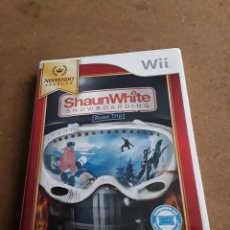 Videojuegos y Consolas: JUEGO NINTENDO WII SHAUNWHITE SNOWBOARDING. Lote 105737823
