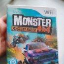 Videojuegos y Consolas: JUEGO WII MONSTER 4X4. Lote 106745935