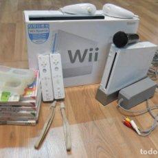 Videojuegos y Consolas: NINTENDO WII-CON 7 JUEGOS. Lote 107503963