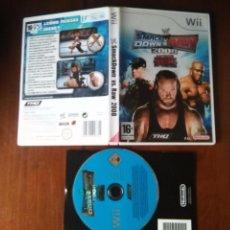 Videojuegos y Consolas: JUEGO NINTENDO WII - SMCK DOWN VS RAW , 2008 FEATURING ECW THQ. Lote 107798175