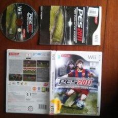 Videojuegos y Consolas: JUEGO NINTENDO WII - KONAMI FUTBOL PES2011 PRO EVOLUTION SOCCER . Lote 107798319